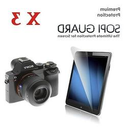 3 x Ultra Clear Screen Protector for Sony A7 A7R A7S