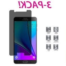 3X HD Privacy Anti-Spy Tempered Glass Screen Protector for S
