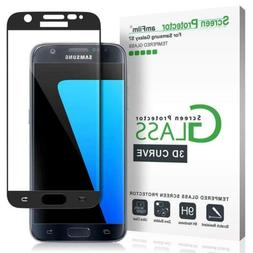 amFilm 3D Curved Tempered Glass Screen Protector for Samsung