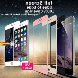 3D Full Coverage Tempered Glass Screen Protector Cover For i