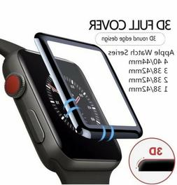 3D Tempered Glass Screen Protector For iWatch Apple Watch 4/