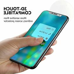 3D Touch Tempered Glass Screen Protector For Apple iPhone X