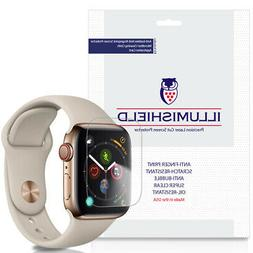 3x iLLumiShield Screen Protector for Apple Watch Series 5 44