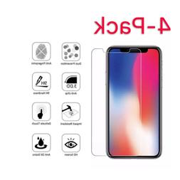 4 pack premium real tempered glass screen