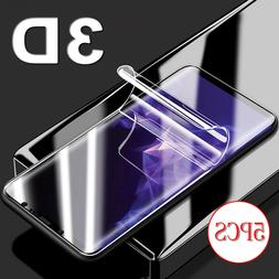 5X HD Full Cover 3D Curved Screen Protector For Samsung Gala