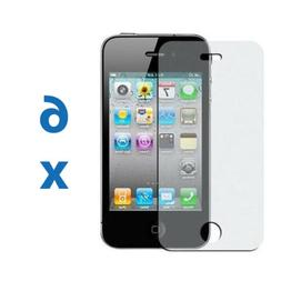 6 iPhone 4 4G 4S Anti-Glare Matte Screen Protector Cover Shi