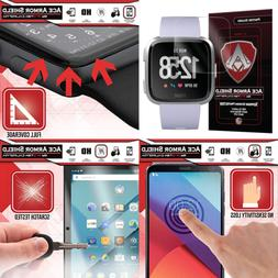 6 Pack Ace Armorshield Screen Protector Compatible Fitbit Ve