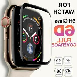 6D Tempered Glass Screen Protector For Apple Watch iWatch 4