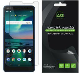 6xDmax Armor Clear Screen Protector for Nokia 3.1 Plus