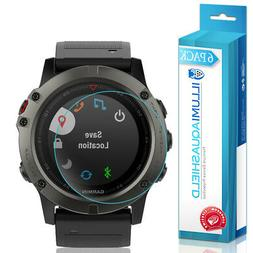 6x iLLumi AquaShield Clear Screen Protector for Garmin Fenix