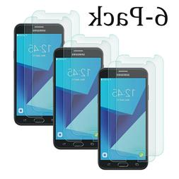 6x Samsung Galaxy J7 2017 Shockproof Tempered Glass Screen P