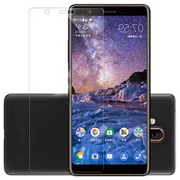 For Nokia 7 Plus Glass Screen Protector -  Nokia 7 Plus Temp