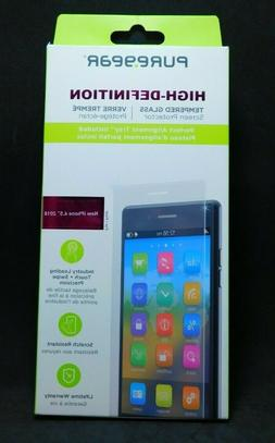 #840 PureGear HD Tempered Glass Screen Protector for iPhone