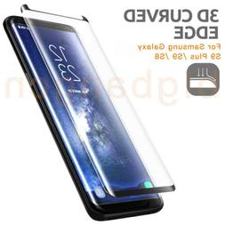 9H Full Curved 3D Tempered Glass PET Screen Protector Fr Sam