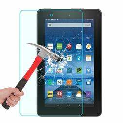 Amazon Fire HD Tempered Glass Screen Protector 9H Bubble Fre