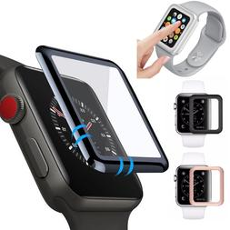 Apple Watch Series 4/3/2/1 3D Full Tempered Glass Screen Pro
