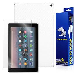 ArmorSuit - All New Fire HD 10 Screen Protector  + White Car