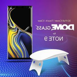 Dome Glass Galaxy Note 9 Screen Protector Tempered Glass Ful