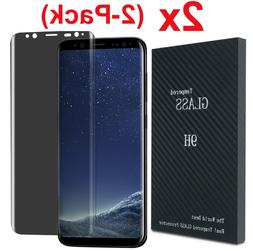 For Samsung Galaxy S8 S9 S10 Plus Privacy Tempered Glass Scr