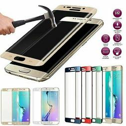 Full Cover Curved Tempered Glass Screen Protector for Galaxy