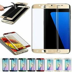 Full Cover Tempered Glass Curved Screen Protector for Samsun
