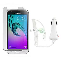 NEW HOT! Car Charger+LCD HD Screen Protector for Android Pho