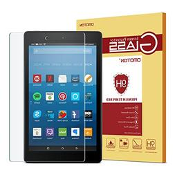 OMOTON Fire HD 8 Screen Protector for All-New Fire HD 8 , Te