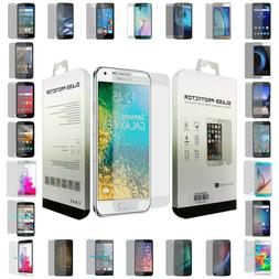 Premium Blister Cell Phone Clear Real Tempered Glass Screen