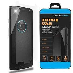 Premium Real Tempered Glass Screen Protector Shield for Moto