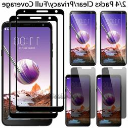 Premium Tempered Glass Screen Protector Film For LG Stylo 5
