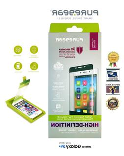 PureGear HD Curved Tempered Glass Screen Protector for Samsu