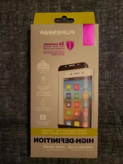 PureGear HD Curved Tempered Glass Screen Protector for the S