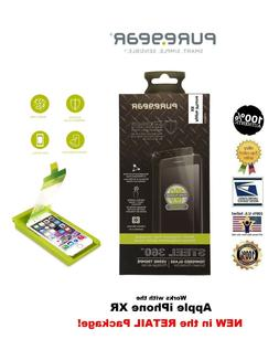 PureGear Steel 360 Tempered Glass Screen Protector with Tray