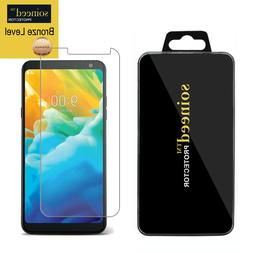 SOINEED Tempered Glass Screen Protector Film Saver For LG St
