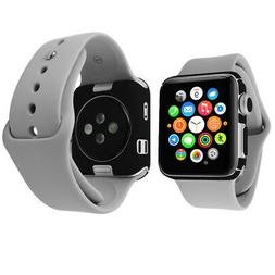 Skinomi Carbon Fiber & Screen Protector for Apple Watch Seri
