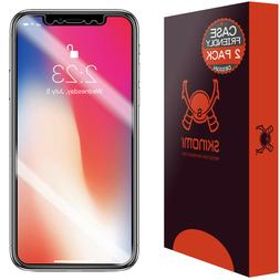 Skinomi TechSkin Apple iPhone X Screen Protector