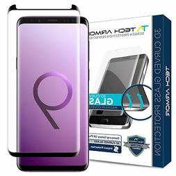 Tech Armor 3D-Edge Glass Screen Protector  Samsung Galaxy S9