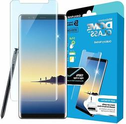 Tempered Dome Glass Screen Protector Spare Kit for Galaxy No