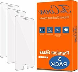 TheCoos 3-Pack 9H Tempered Glass Screen Protector for Apple