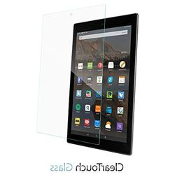 Amazon Fire HD 10 Screen Protector, BoxWave®  9H Tempered G