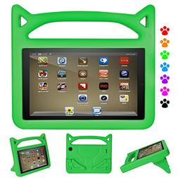 Kindle Fire HD 8 2017 Kids Case, Roasan Super Protection and