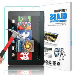 For Amazon Kindle Fire HD 8 2018/2017 Clear Tempered Glass S