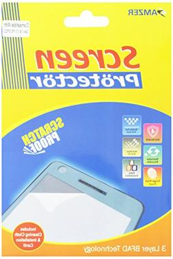 Amzer AMZ95863 Kristal Clear Screen Guard Scratch Protector