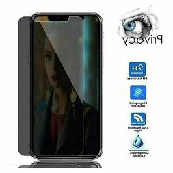 Privacy Tempered Glass Screen Protector For iPhone X XR XS 1
