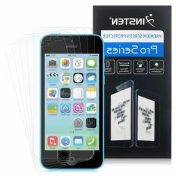 Apple iPhone 5/5C/5S/SE Screen Protector, eForCity 5-Pack Ma