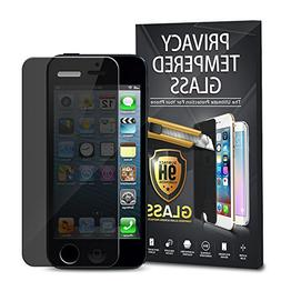 Apple iPhone 5/5S/SE Screen Protector, Insten Privacy Anti-S