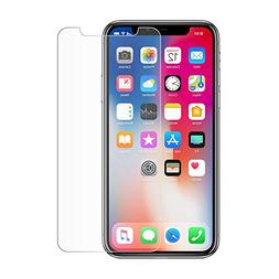 Apple iPhone Xs Screen Protector, BoxWave  Tempered Glass Sc