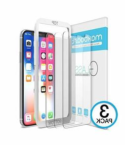 Maxboost Apple iPhone X Clear 0.25mm Tempered Glass Screen P