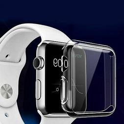 For Apple Watch Series 2 3 4 5 Screen Protector Cover Case S