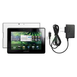 NEW Battery Wall Charger+LCD Screen Protector for BlackBerry